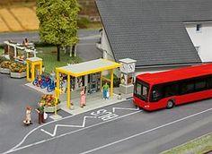 161653 Car System Bus stop set