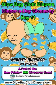 BoyDay11Monkey  This would be perfect for my little Monkey Butt!
