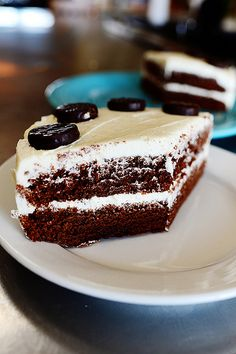 Chocolate Mint Cake by Ree Drummond / The Pioneer Woman