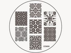 Emily de Molly Nail Art Stamping Plates