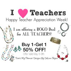 """I Love Teachers!""For the month of September. www.marciestultz.mypremierdesigns.com access code:  IZK6"