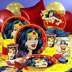 DC Women Kicking Ass - It's Wonder Woman's Birthday, let's party!