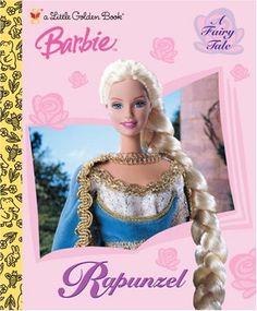 Rapunzel (Barbie, Little Golden Book) by Diane Muldrow… Rapunzel Barbie, Disney Rapunzel, Little Golden Books, Little Books, Best Children Books, Childrens Books, Barbie Fairytopia, Barbie Diorama, Barbie Movies