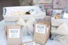 Popcorn Bar ... cute/easy stickers @Briana Bledsoe
