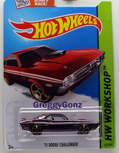 Hot Wheels '71 Dodge Challenger * HW Workshop Series * Chocolate #HotWheels #Dodge
