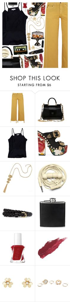 """""""The Night We Met, Lord Huron"""" by blendasantos ❤ liked on Polyvore featuring Simon Miller, Dolce&Gabbana, Parker, FAUSTO PUGLISI, Urbanears, BLACK BROWN 1826, Essie, Lily Lolo, Van Cleef & Arpels and GUESS"""