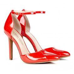 Red heels!