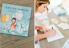 Baby Shower Guest Book Idea - Tea for Two Joint Baby Shower - The Celebration Society