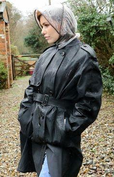 Black Raincoat, Raincoat Jacket, Plastic Raincoat, Pvc Raincoat, Rain Bonnet, Rubber Raincoats, Rain Hat, Boot Camp, Black Rubber