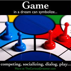 Sell Board Game Pieces, Boards, Upcycled Recycled - House of Junque Board Game Pieces, Board Games, Facts About Dreams, Dream Dictionary, Dream Symbols, Recycled House, Dream Meanings, Im A Dreamer, Weird Dreams