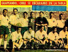 EQUIPOS DE FÚTBOL: SELECCIÓN DE CHILE Campeonato Sudamericano 1945