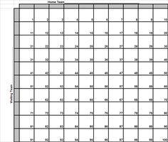 squares bowl super football template printable boxes superbowl pool excel grid templates square nfl print sheet blank 2020 pot form
