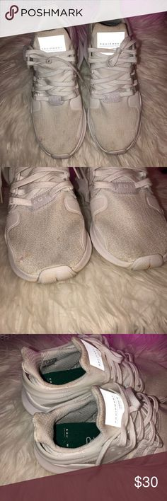 more photos 241a8 e6034 Adidas Equipment Eqt Worn but still has a lot of life left just need a good