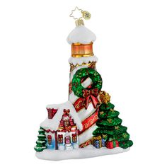 Image detail for -Christopher Radko Holiday Beacon Ornament