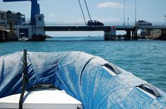 St. Maarten by dinghy.