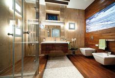 łazienka z morskimi motywami