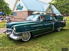 Cadillac 1954 coupe de ville