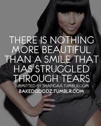 Life Quotes : Nicki Minaj Smile Quote #Life https://quotesayings.net/life/life-quotes-nicki-minaj-smile-quote-2/
