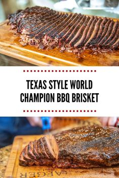 Style World Champion BBQ Brisket - Texas Style BBQ World Champion Brisket Recipe using Head Country BBQ sauce -Texas Style World Champion BBQ Brisket - Texas Style BBQ World Champion Brisket Recipe using Head Country BBQ sauce - Best Bbq Recipes, Traeger Recipes, Smoked Meat Recipes, Rub Recipes, Grilling Recipes, Chicken Recipes, Best Bbq Food, Healthy Grilling, Oven Recipes