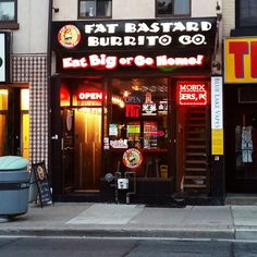 Fat Bastard Burrito (634 Yonge St) fatbastardburrito.ca