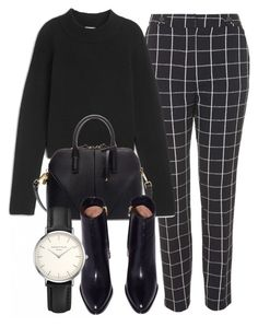 """Untitled #6326"" by laurenmboot ❤ liked on Polyvore featuring Topshop, Zara and ROSEFIELD"