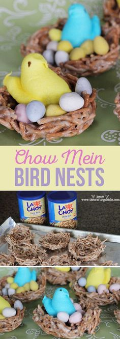 Chow Mein Bird Nests