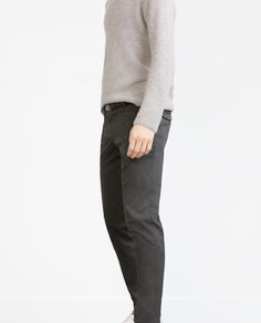Image 2 of STRUCTURED TROUSERS from Zara