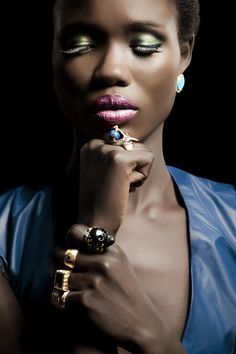 From Wendy Brandes Jewelry Fall 2012 Lookbook. Love everything about this shot.