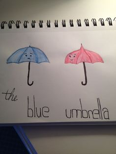 The blue umbrella☔ Blue Umbrella, Home Decor, Decoration Home, Room Decor, Interior Design, Home Interiors, Interior Decorating