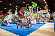 Angry Birds Activity Park- Saariselka. Angry Brids, Holiday Resort, Playgrounds, Funny Games, Creative Design, Batman, Birds, Entertaining, Activities
