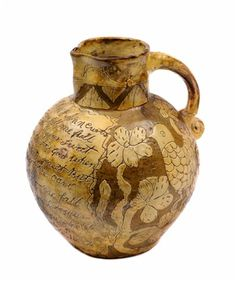 A North Devon pottery jug