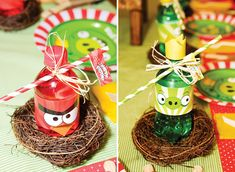 angry birds inspired party