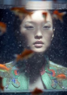Du Juan by Wing Shya for VOGUE China.