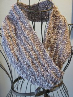 Balls to the Walls Knits: Lace Ladder Cowl