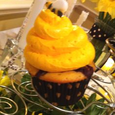 Beehive cupcakes, also by Molly O