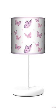 Lampa stołowa smart - Motyle Decorami.pl