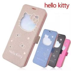 Cute Hello Kitty View Window Flip Cover Leather Stand Case for iPhone 6 Plus 5S #UnbrandedGeneric