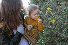 the sling diaries: kelly and maja babywearing discovery! #sakurabloom