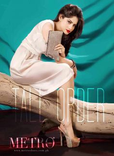 Metro High Heels And Clutches 2014-15 | Latest Clutches And Shoes For Girls With Neelam Muneer