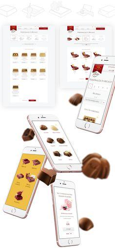 Nestlé. Díselo con Chocolate. Responsive Website on Behance