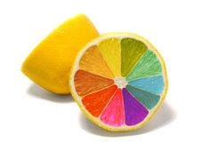 Dying Lemons with Food Coloring (Myth or Fact???)