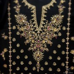 Working on a very exciting project ! Embroidery Suits Punjabi, Zardosi Embroidery, Hand Embroidery Dress, Wedding Embroidery, Bead Embroidery Patterns, Embroidery Suits Design, Embroidery On Clothes, Couture Embroidery, Indian Embroidery
