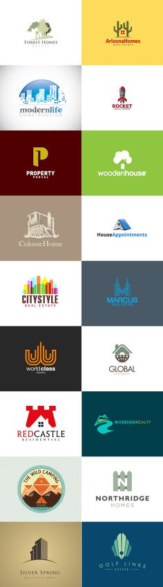 "Logo inspiration ""real estate"""