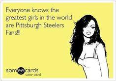 Greatest girls love steelers