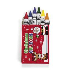 Christmas Holiday Crayons