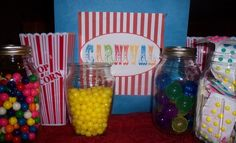 Carnival games and decor ideas