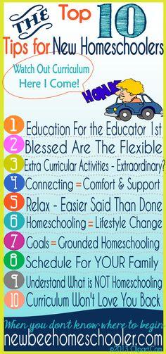 Top 10 Tips for New Homeschoolers - Curriculum, curriculum, curriculum - Isn't that How to Begin Homeschooling? Part 2