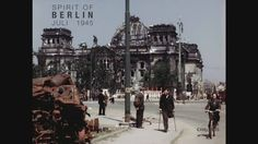 Film of Berlin on July 1945 in color. Just 2 months after the end of the war. Must see!!!