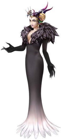 Alternate outfit for Ultimecia in Dissidia 012 as Sorceress Edea.