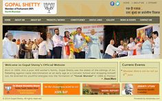 Gopal Shetty Website Developed by Dots Info Systems (I) Pvt. Website Development Company, Current Events, Dots, Stitches, Polka Dots